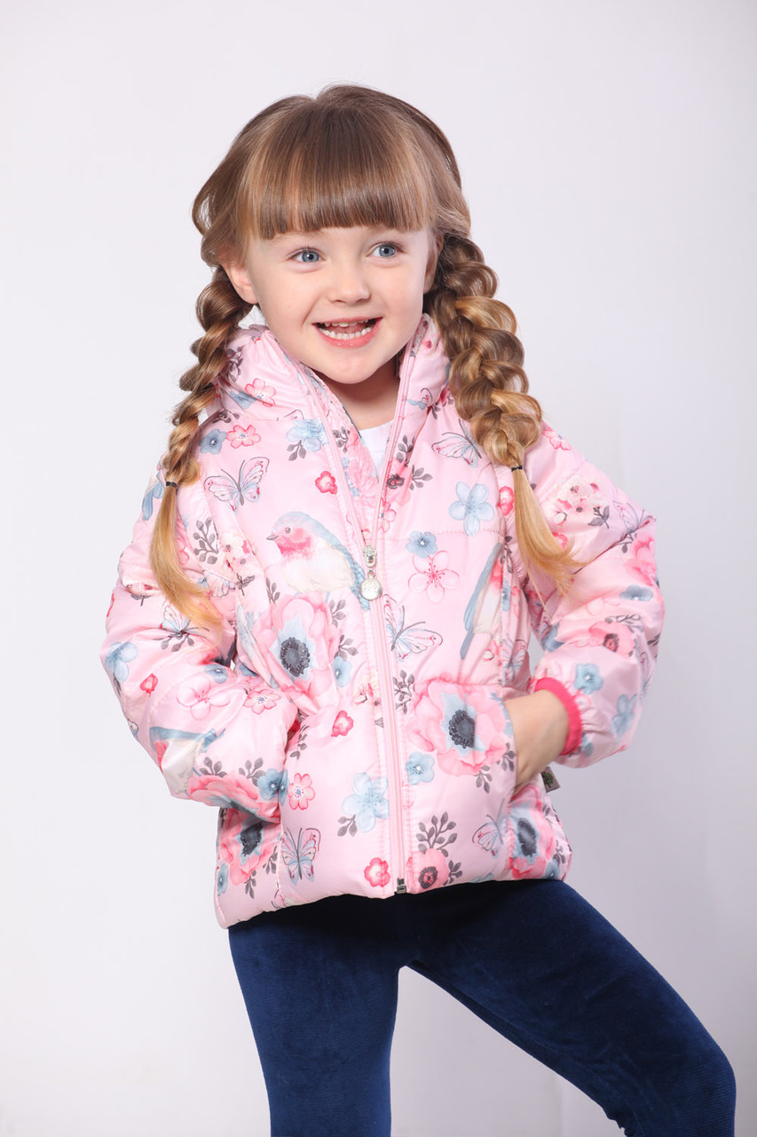 Детская куртка жилетка для девочки