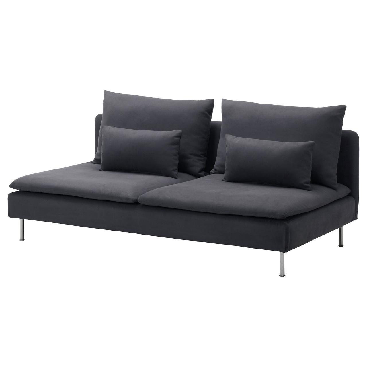 IKEA Диван нераскладной SÖDERHAMN ( 099.018.83)