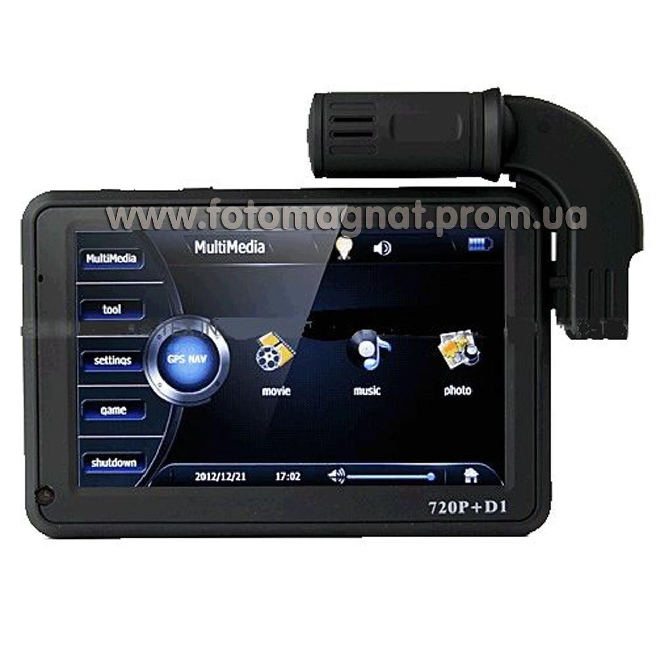 Автомобильный видеорегистратор DVR 5 дюймов с GPS(хороший видеорегистратор автомобильный)