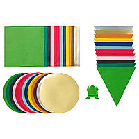IKEA Набор бумаги для оригами LUSTIGT (503.853.97)