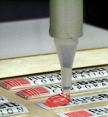М'яка смола епоксидна КЕ «Hobby-911», для виробництва брелків, значків, етикеток, шильд.