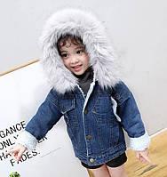 Детская джинсовая куртка на девочку, девочек, джинсовка для девочки,парка детская на девочку,парка на дівчинку