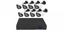 Комплект видеонаблюдения Ahd Kit 1080P на 8 камер 2 mp