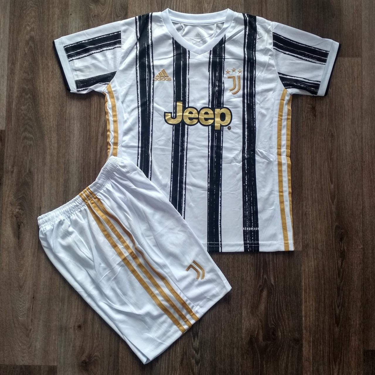 Футбольная форма Ювентус  домашняя сезон 2020-2021