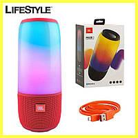 JBL Pulse 3 / Портативная Bluetooth колонка (беспроводная, акустическая) Красная