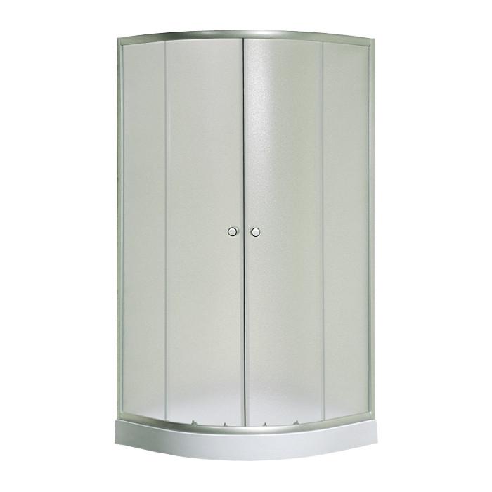S-90/15 new, Sansa, душова кабіна 90 х 90 см, рама сатин, скло фабрік