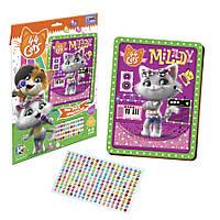 """Детский набор для творчества """"Milady"""" «Магические кристаллы. 44 Котёнка» VT4411-04 от 3х лет, фото 1"""