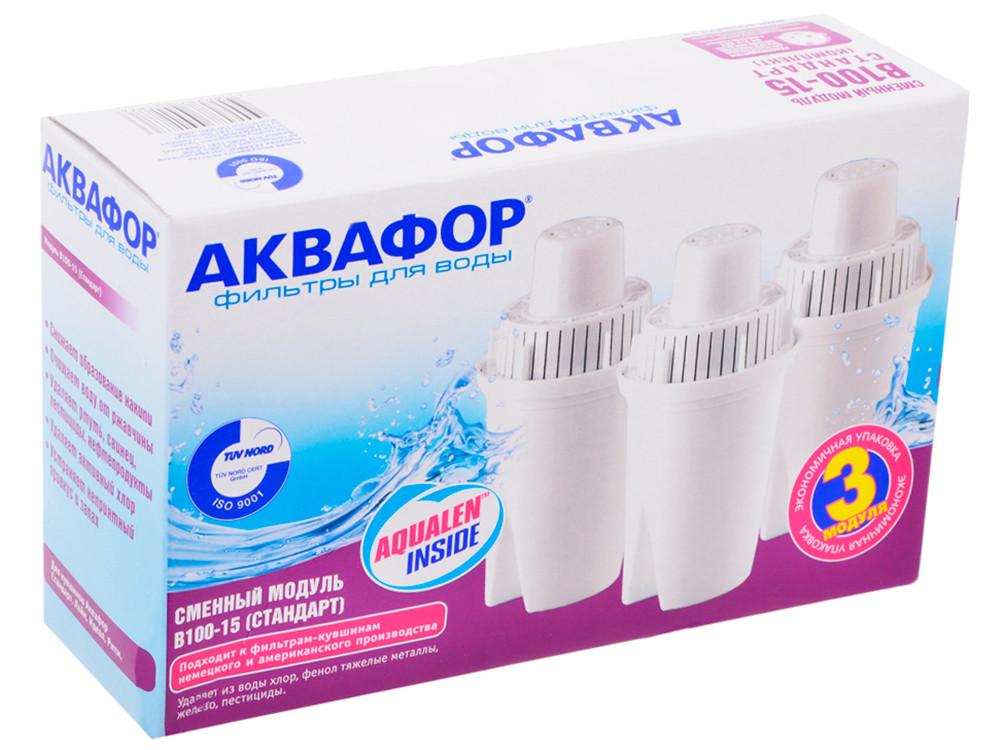 Аквафор Сменный модуль Аквафор В100-15 (комплект 3 шт)