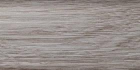 Плінтус підлоговий ПВХ з кабельканалом 0024 Дуб світлий ТІС