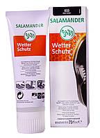 Крем для обуви Wetter Sсhutz 75мл (Темно-коричневый 033) - Salamander, фото 1