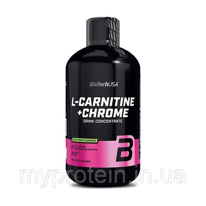 BioTech Л-карнитин L-Carnitine 35 000 + Chrome (500 ml )