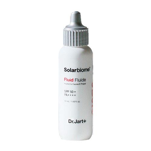 Солнцезащитный флюид для жирной и комбинированной кожи Dr.Jart Solarbiome Fluid SPF 50+ PA++++, 50 мл
