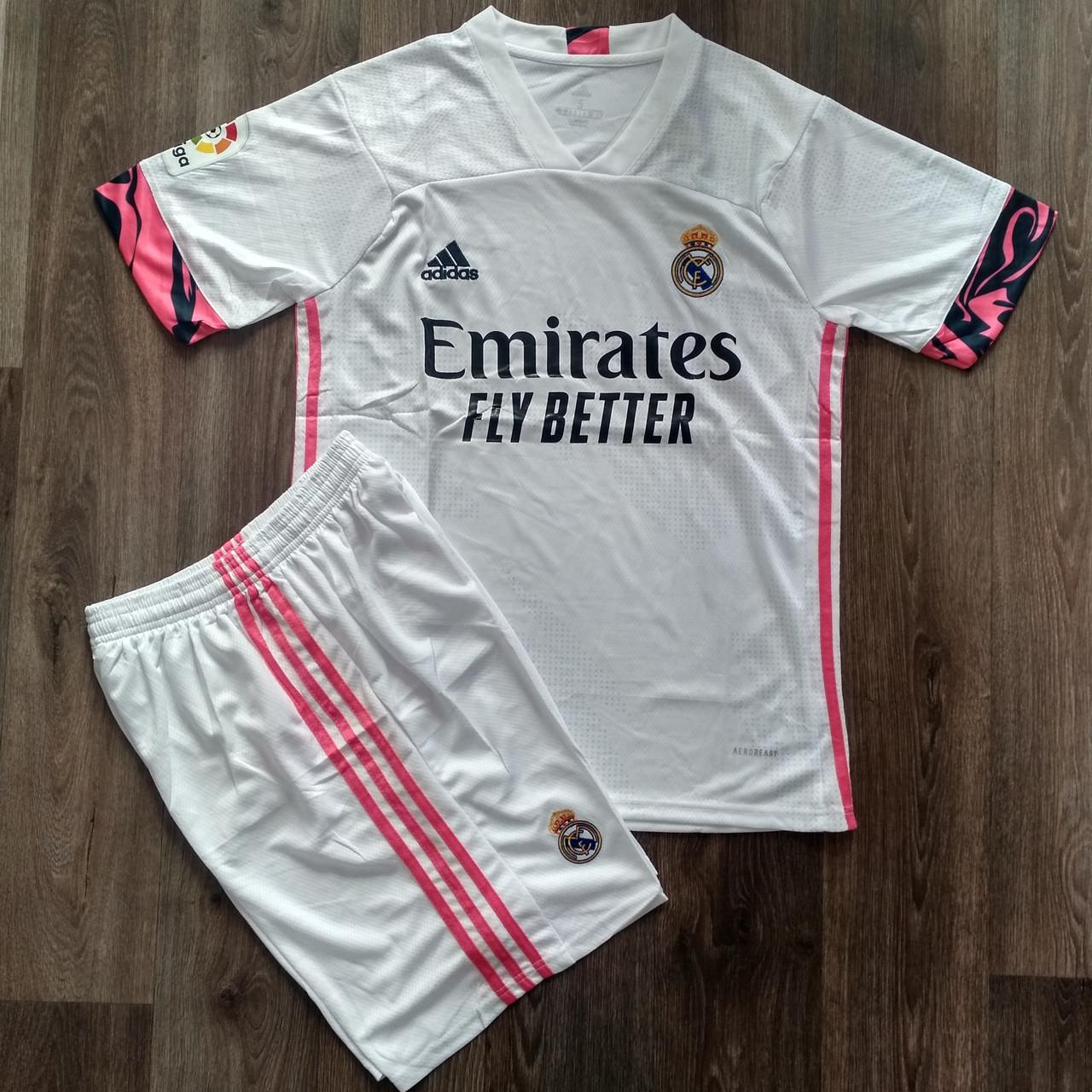 Футбольная форма Реал Мадрид домашняя сезон 2020-2021