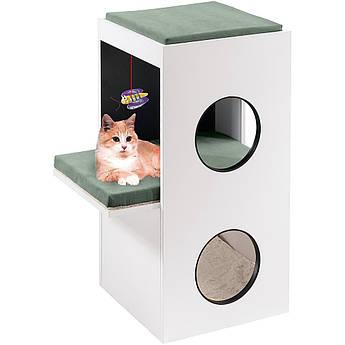 Домик игровой для кошек с когтеточкой BLANCO Ferplast