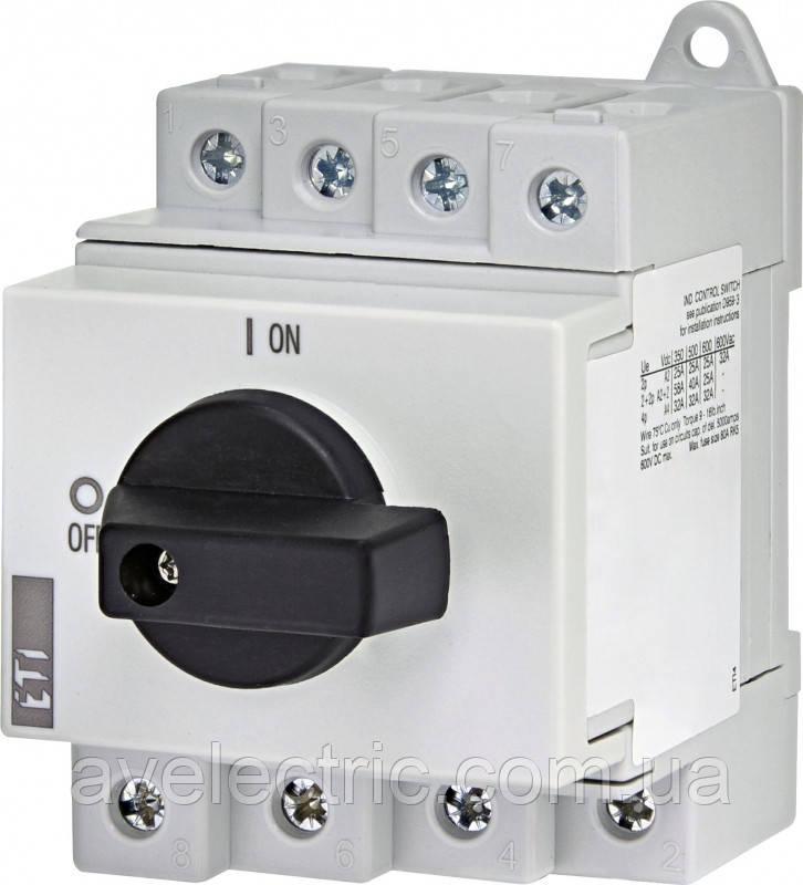 "ETI, 4660065, Выключатель нагрузки LS 32 SMA А4 4р ""1-0"" 32А 1000V DC"
