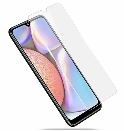 Гидрогелевая защитная пленка на Samsung Galaxy A10s на весь экран прозрачная, фото 2