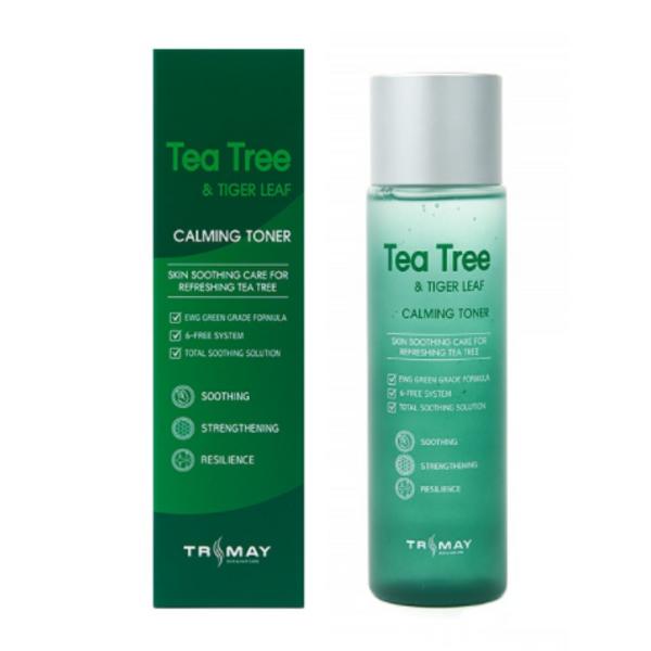 Заспокійливий тонер з екстрактом чайного дерева і центеллой Trimay Tea Tree & Tiger Leaf Calming Toner, 210 мл