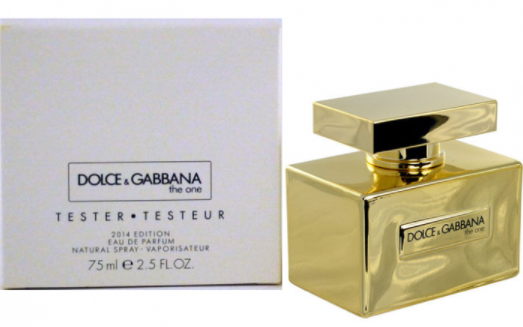 Тестер женский Dolce & Gabbana The One Gold Limited Edition, 75 мл