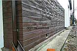 Термопанели фасадные на стеродуре , фактура Руст гладкий, толщина 30 мм, фото 8