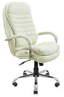 Кресло Валенсия Хром механизм Tilt подлокотники Пластина, кожзаменитель Флай-2200 (Richman ТМ)