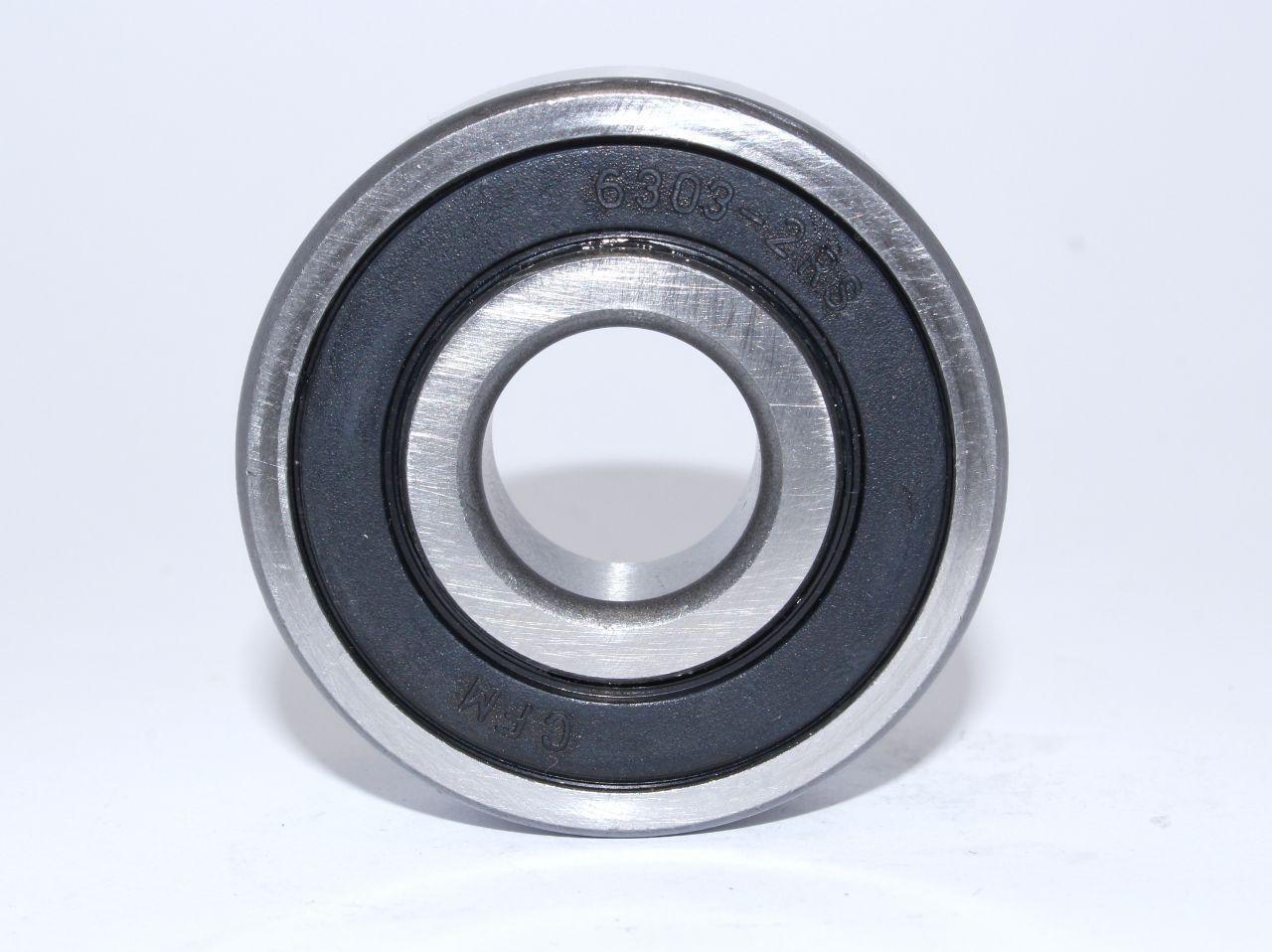 Подшипник 6010 2RS (ГОСТ: 180110) CFM (Китай), 50х80х16 мм, шариковый радиальный однорядный