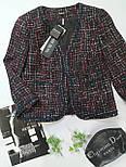 Твідовий жіночий жакет Salsa 3.780 від NOCHE MIO., фото 5
