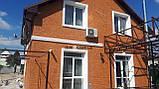 Термопанели фасадные на стеродуре , фактура Колотый кирпич, размер 500х500мм, толщина 100 мм, фото 2