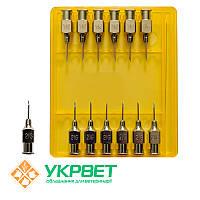 Игла ветеринарная инъекционная LL 0,8 мм (21 G)