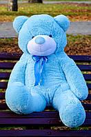 Плюшевый подарок Мишка голубой 120 см на День Рождения день влюбленных, 8 марта