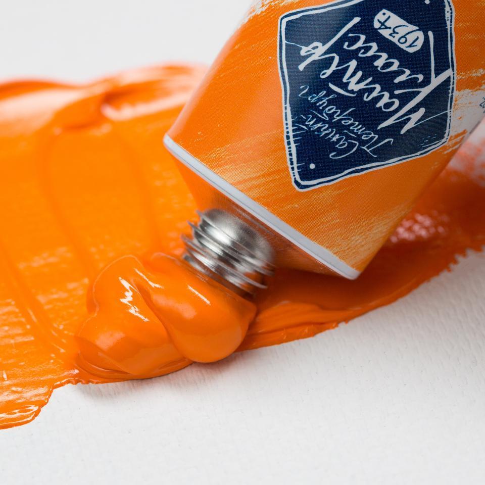 Краска масляная МАСТЕР-КЛАСС, кадмий оранжевый (304), 46 мл, ЗХК Невская палитра