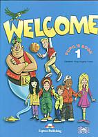 Книга Welcome 1 Pupil's Book with Alphabet Book.