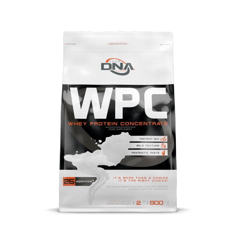 Протеин DNA Supps WPC, 900 грамм Белый шоколад