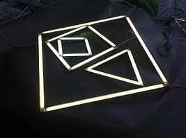 Декоративный Led светильник замена основного освещения. LED освещение. Светодиодная подсветка.