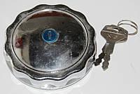 Крышка топливного бака с замком (хром)  для мотоцикла МТ
