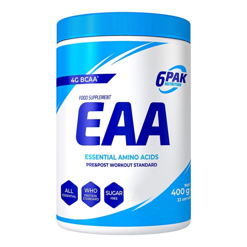 Аминокислота 6PAK Nutrition EAA, 400 грамм Грейпфрут