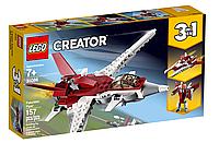 Конструктор LEGO Creator Истребитель будущего 31086 | набор лего креатор 3 в 1 оригинал на 157 деталей