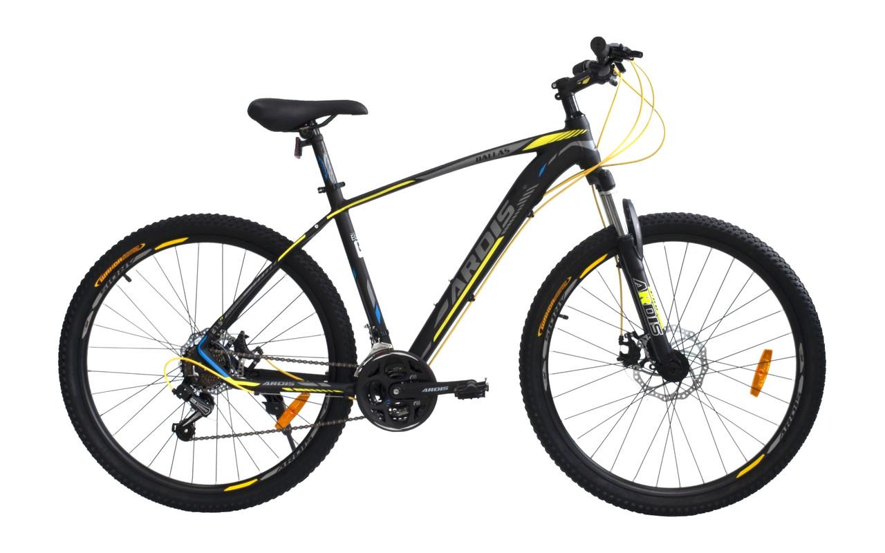 """Велосипед гірський ARDIS DALLAS 27.5"""" 17"""" MTB AL Чорно/Жовтий"""