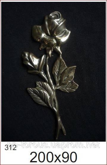 Литые латунные розы