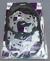 Прокладки двигателя к-кт 8шт (бумага, метал)  для мотоцикла К-750