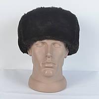 Меховая шапка из искусственного меха - мутон