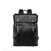 Рюкзак мужской кожаный Feidika Bolo Original Черный, фото 2