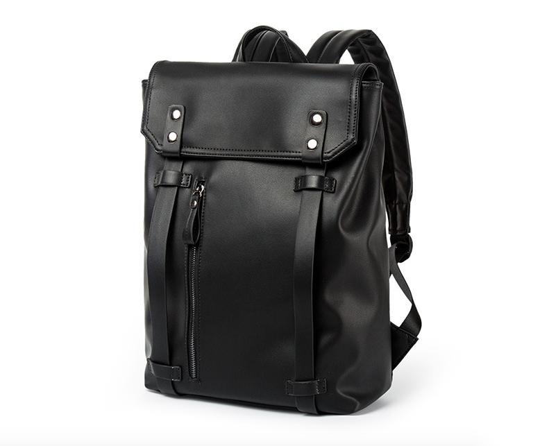 Рюкзак мужской кожаный Feidika Bolo Original Черный