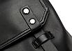 Рюкзак мужской кожаный Feidika Bolo Original Черный, фото 8