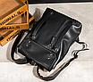 Рюкзак мужской кожаный Feidika Bolo Original Черный, фото 5