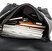 Рюкзак мужской кожаный Feidika Bolo Original Черный, фото 7
