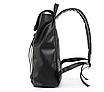 Рюкзак мужской кожаный Feidika Bolo Original Черный, фото 10