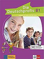 Книга Die Deutschprofis B1 Kursbuch mit Audios und Clips online