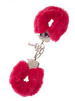Наручники Metal Handcuff with Plush red