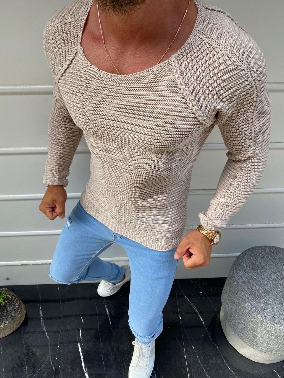 😜 Свитер - Мужской свитер джампер