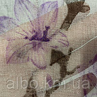 Ніжний тюль з батисту з квітами на метраж, висота 2.8 м, фото 4
